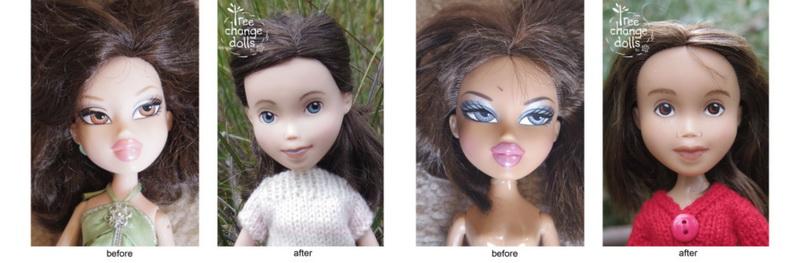 переделка кукл